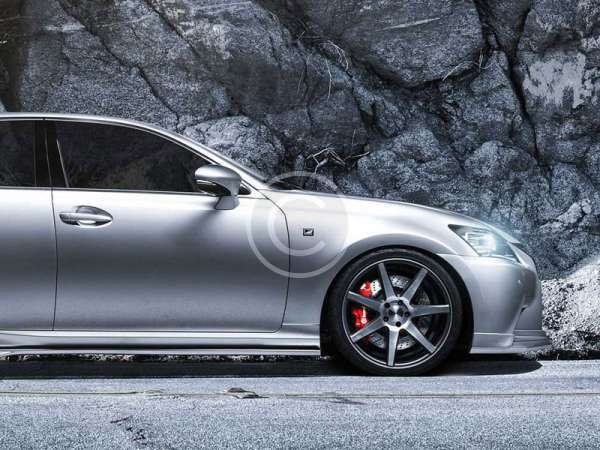 Lexus GS Luxury Tuning with Vossen and Spec-D
